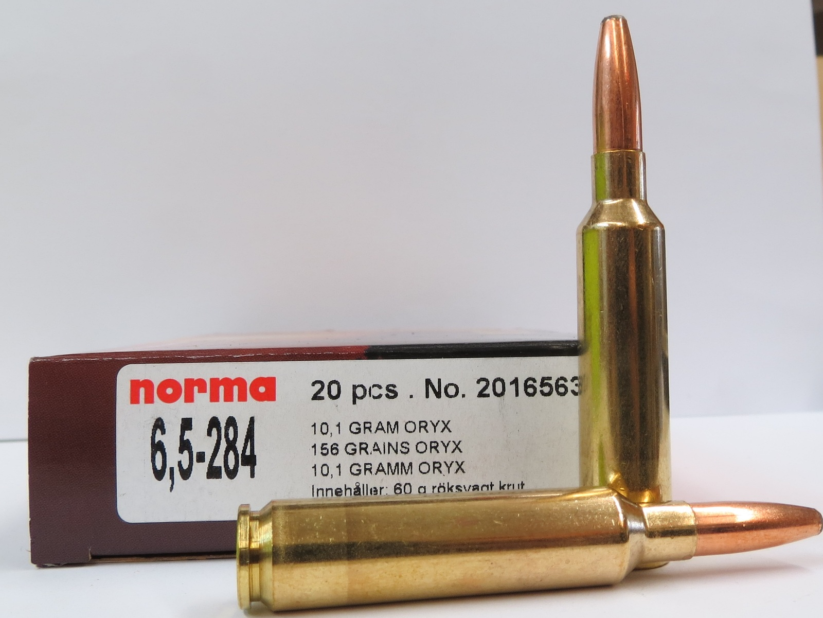 Image result for norma 6.5 x 284 oryx
